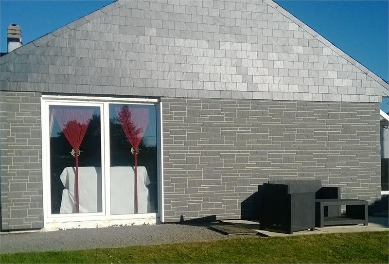 Coverstone natuursteen gevelpaneel in kunststof