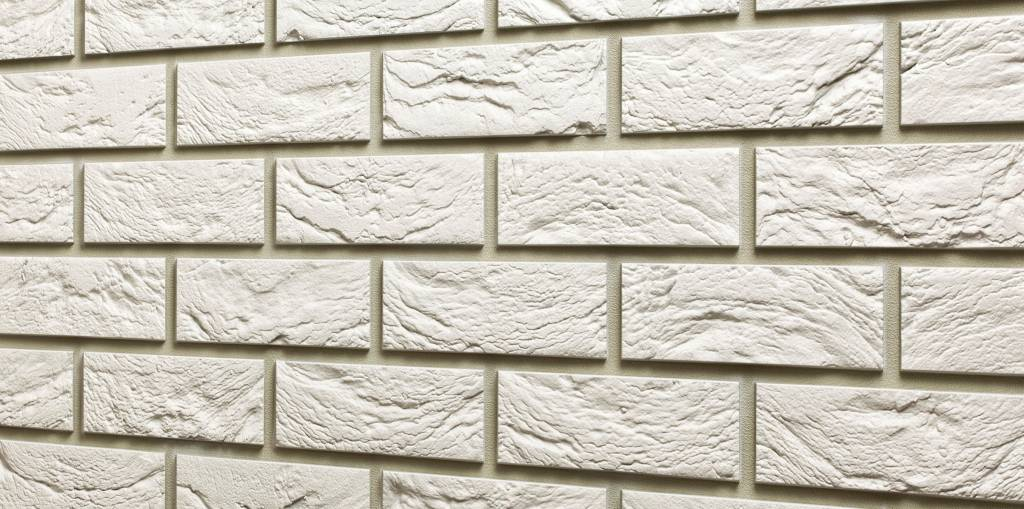 Coverstone baksteenpaneel - kasteelwit