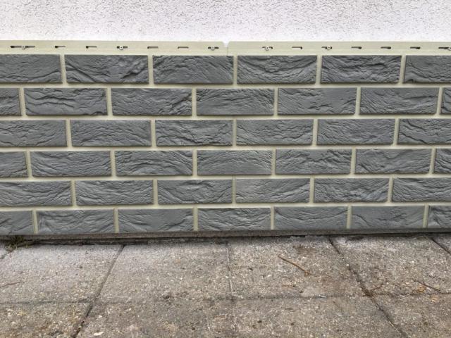 Coverstone gevelpanelen - eenvoudige plaatsing sidings
